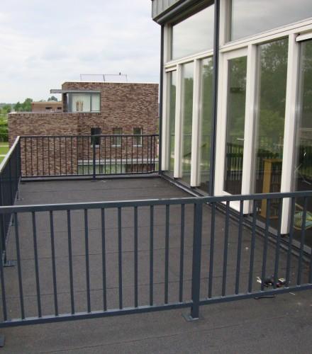 Balkonhekken en leuningen